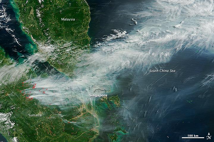 Colorado, Arizona, Indonesia: Wildfires and Air Quality Concerns