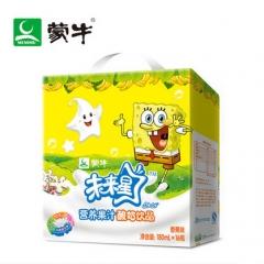 蒙牛未来星妙妙营养果汁酸奶瓶装180ml*16瓶 香蕉味