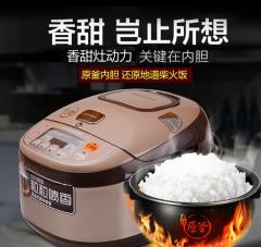 Joyoung九阳 JYF-50FS22/JYF-40FS22 电饭煲5L预约智能家用