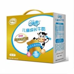 伊利 QQ星儿童成长牛奶健固125ml*20/提