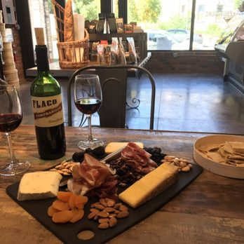 Photo of Cheese+Provisions - Denver, CO, United States. Stay for wine and cheese! You're nuts if you don't!