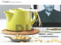 环球品汇 贝尔陶瓷茶壶配滤茶器