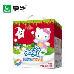 蒙牛未来星妙妙营养果汁酸奶瓶装180ml*16瓶 草莓味
