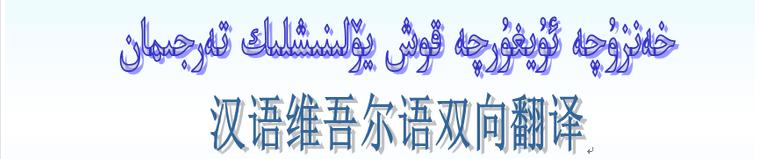 汉语维吾尔语双向翻译