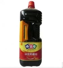 味达美味极鲜酱油2L无防腐剂纯粮酿造恒温发酵特级酱油 2L