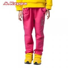 Kappakids童装2014秋冬 女童运动裤针织长裤 K04T2AK03 珠光玫红 120