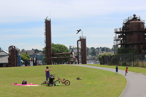 At Gas Works Park