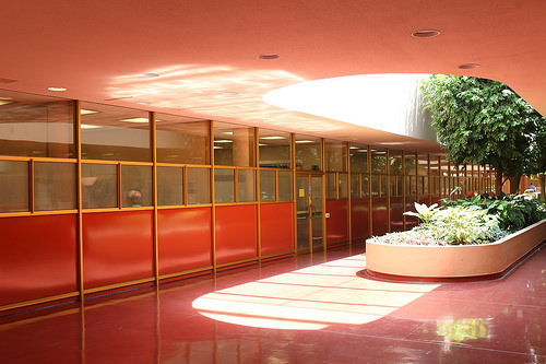 Inside the Marin County Civic Center