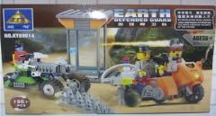 正品开智积木 89014地球捍卫队 式拼装拼插益智玩具模型 山东包邮