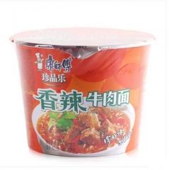 康师傅香辣牛肉面108g 速食泡面方便面