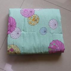纯棉人造棉夏凉被人造棉空调被舒适透气可水洗薄被子 3号色 1.5m*2.0m