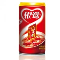 银鹭 桂圆莲子八宝粥 360g*10罐 礼盒装 方便即食 营养健康