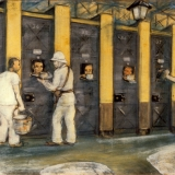 Francis Lagrange, A Row of Solitary Confinement Cells, c.1940s.