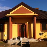 Żukowo, Dom jednorodzinny- elewacja