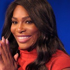 Serena Williams Shows Off Her New Taco Engagement Ring
