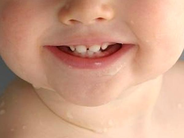 You must watch the development of your baby's teeth periodically