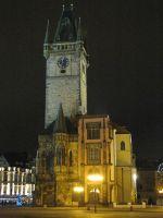 Староместская ратуша ночью