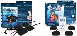 TOP-BEST TENS Massager Unit for Back Pain Relief! Works on ALL Pain