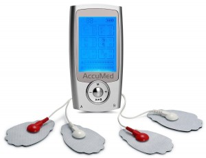 AccuMed AP112 Portable TENS Unit Electronic Pulse Massager with Lifetime Support and USA Warranty