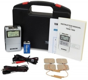 Tens Unit Muscle Stimulator - Tens Machine for Pain Management, Back Pain and Rehabilitation