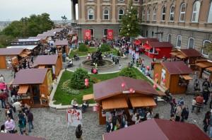 Budapest Chocolate Festival in Buda Castle