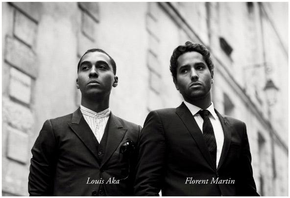 Florent Martin et Louis Aka