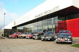 Monte Carlo Rally classic cars return to GTG Glasgow