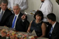 Mike Pence will not attend an event serving booze without his wife Karen, aka 'Mother'