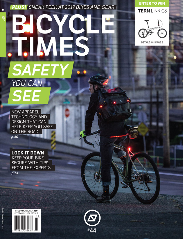 The latest issue of Bicycle Times Magazine