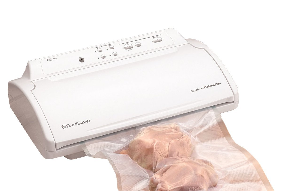 The FoodSaver GameSaver Deluxe is an excellent food vacuum sealer and will last you a long time.