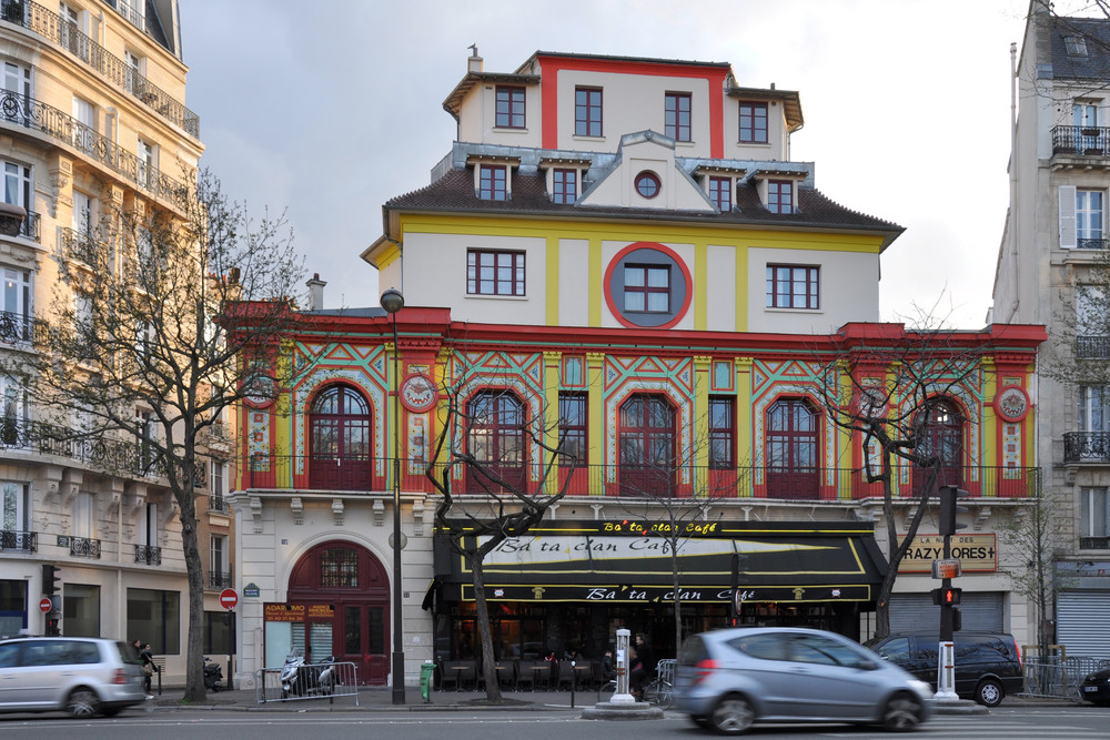 The Bataclan concert hall in Paris, site of an Islamist terror attack in which 89 people were killed Friday among 129 deaths across six coordinated attacks. Credit: Céline via Wikimedia Commons.