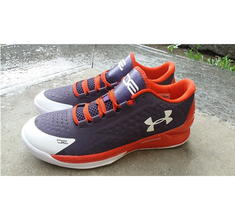 Under Armour ClutchFit Drive Low Stephen Curry Shoes Red White