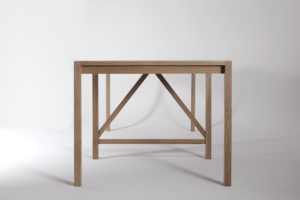 Owen and Vokes and Peters, P&G Table, 2014. Tasmanian oak. Photo by Jon Linkins.