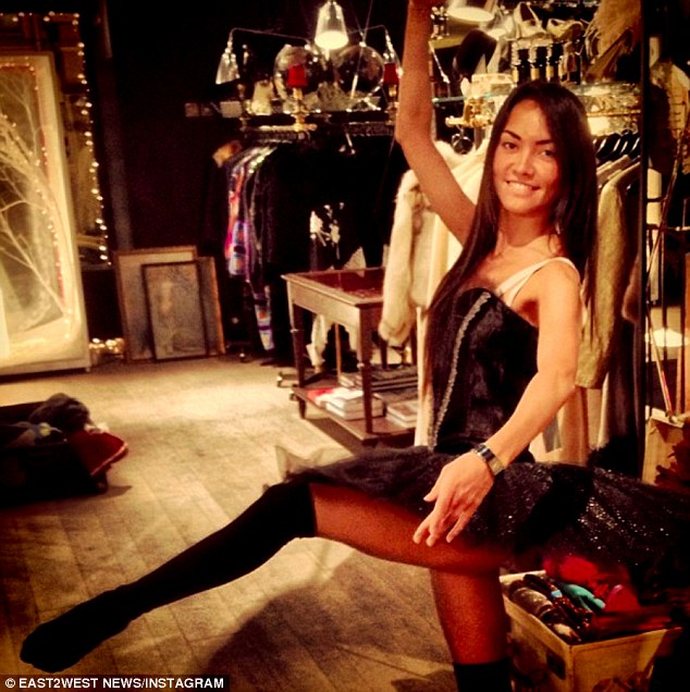 Former model: Mikhail Lesin had found new love with Victoria Rakhimbayeva, a former semi-nude model for Russian Maxim magazine who was 28 years his junior. She has accepted condolences on his death