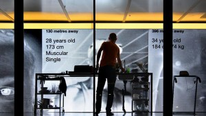 """Artist Invites Grindr Users To """"Play"""" In A Glass Box In The Streets Of Berlin, Do Boring Stuff"""