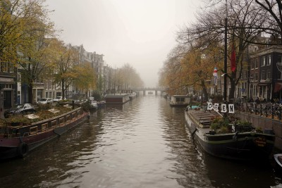 Pretty misty canals