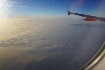 Foggy over England