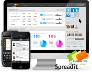 Spreadit social media marketing