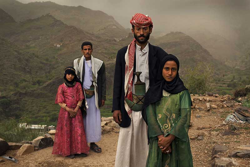 Child Marriage. Photograph by Steve Mc Curry.