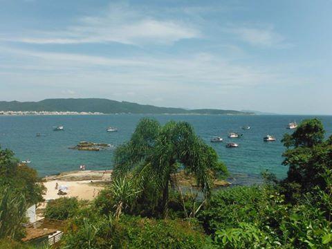Praia Lagoinha - Bombinhas /SC Foto Eliane Luiz