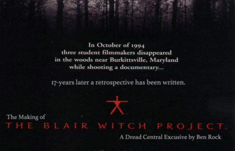 Blair Witch Making Of