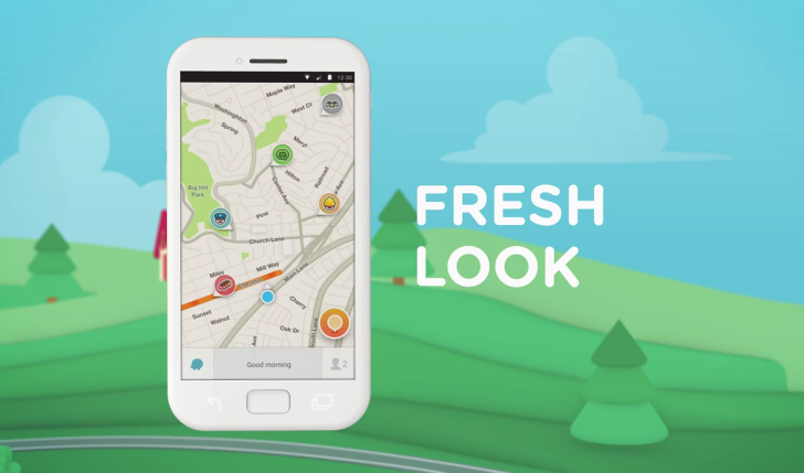 Download Waze for Android Traffic and Navigation App Releases Update for Android Version 4.0
