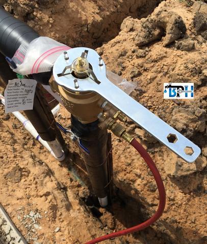 "Febco Bonnet Wrench 765-1"", WF106"