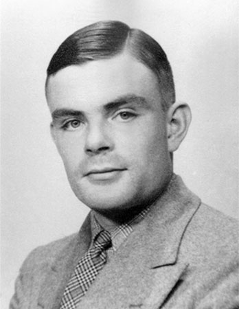 British mathematician and logician Alan Turing in the 1930s.