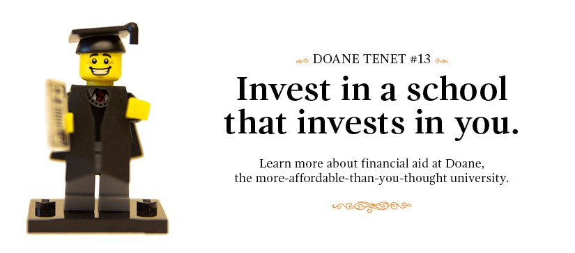 Learn about Financial Aid at Doane.