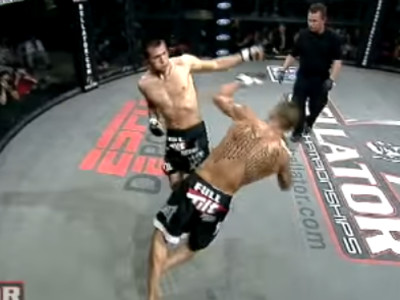 Insane KO of the Day: The Backfist that Launched Bellator