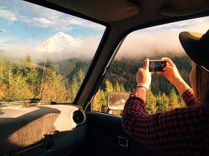 Photo stop, Oregon