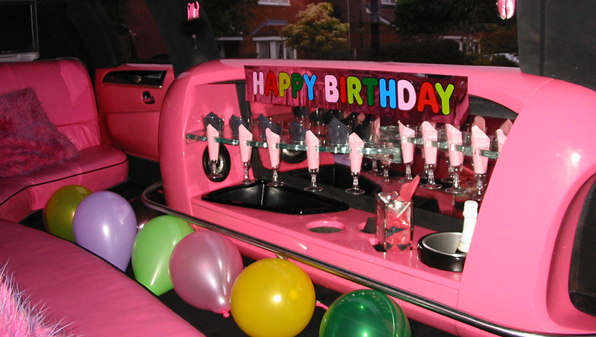 birthday limo service Philly