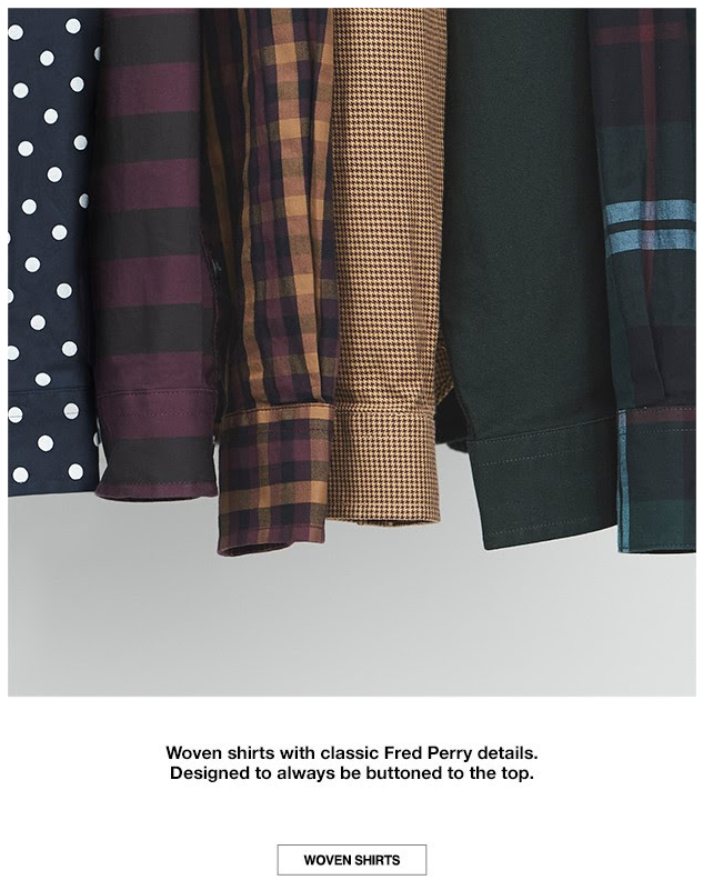 Fred Perry newsletter