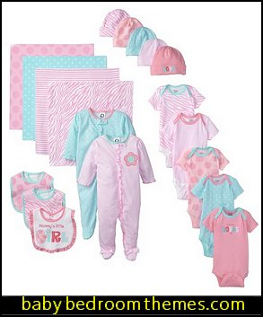 Baby-Girls Newborn 19 Piece Newborn Essentials Gift Set